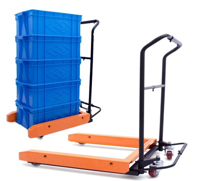 Euro-container Trolley